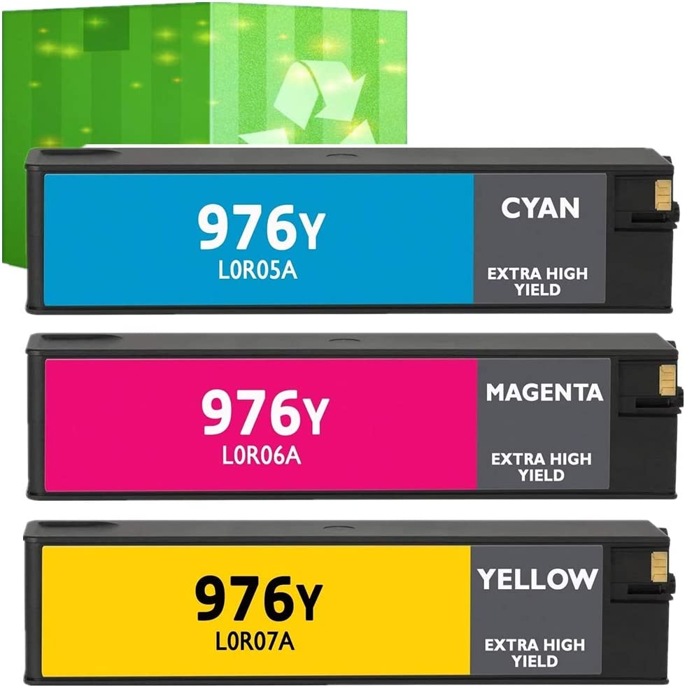 Print.After.Print Remanufactured Inkjet Replacement for HP L0R05A Extra High Yield Works with: PageWide Pro 552dw Cyan 577dw 976Y 577z