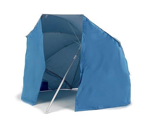 Ombrellone Da Mare Con Tenda.Mediawave Store Ombrellone E Tenda 2 In 1 Da Spiaggia 265918 Con