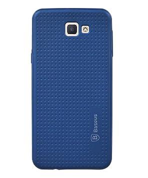 Coverage Rubber Back Cover for Samsung Galaxy J5 Prime   Black