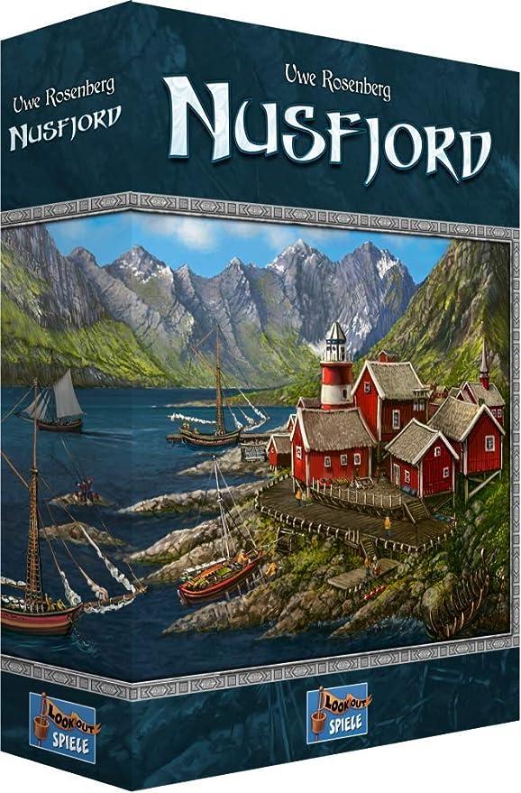 Nusfjord – Un Juego de Mesa de Uwe Rosenberg. Incluye una única Bandeja Plegable para Jugar con el Juego: Amazon.es: Juguetes y juegos