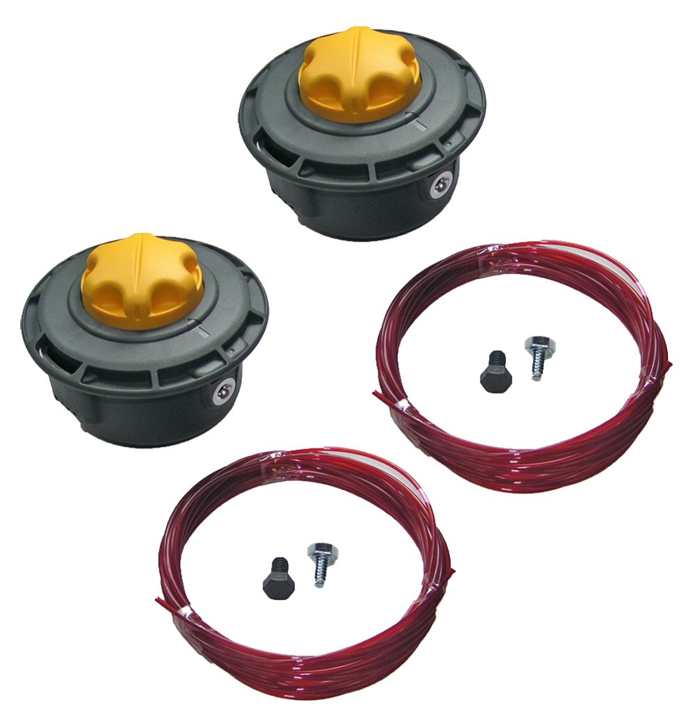Ryobi RY29550 / RY30530 String Trimmer Replacement (2 Pack) Reel Easy String Head Assembly # 120950010-2pk