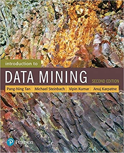 Intro to Data Mining book photo