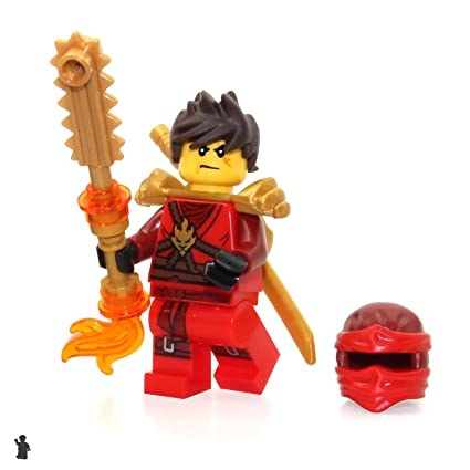 LEGO Ninjago Day of The Departed Minifigure - Kai (Pearl Gold Armor) Limited Edition