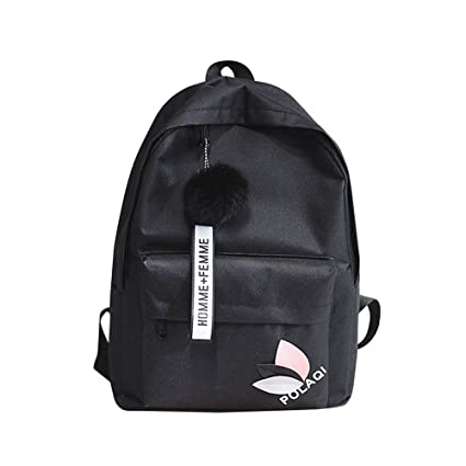 Cinhent Backpacks Fashion Neutral Backpack Lightweight Shoulder Bag Canvas  School Girls Boy Small Fresh College Wind c9a26a0d61b54