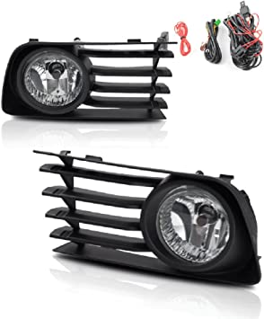 Left Driver Side Fog Light Lamp Cover Grille Bumper for Toyota Prius 2004-2009