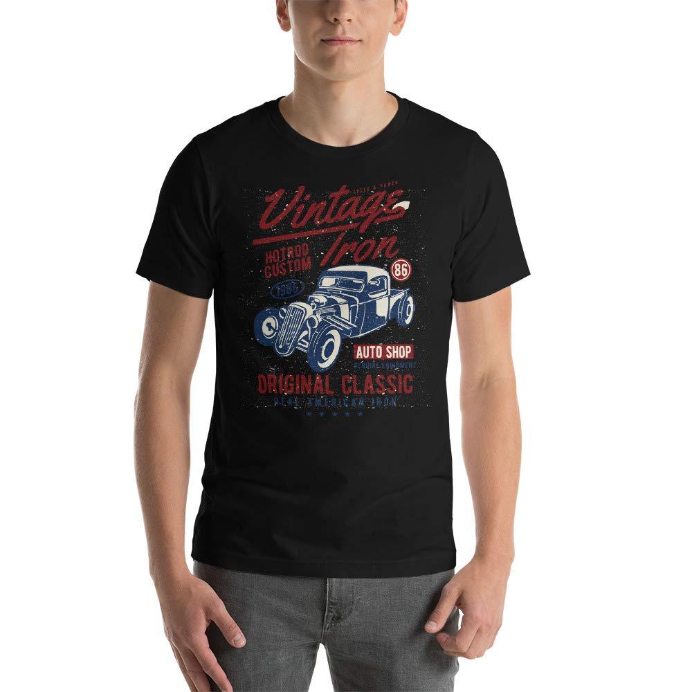 Abundant Life Co Vintage Hot Rod Short-Sleeve Unisex T-Shirt