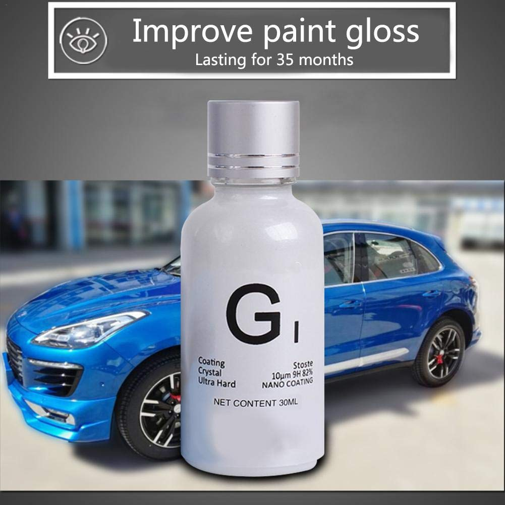 KILLYSUFUY Car Paint Surface Plating Set Imported Nano Car Body Crystal Coating Car Glass Rainproof Front Glass Anti-Fogging Agent: Amazon.es: Coche y moto
