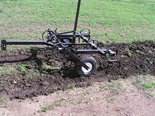 Tine Cultivator - Tow Behind Atv Utv & Compact Tractor - 4 Ft Cut Width by Streamline Industrial