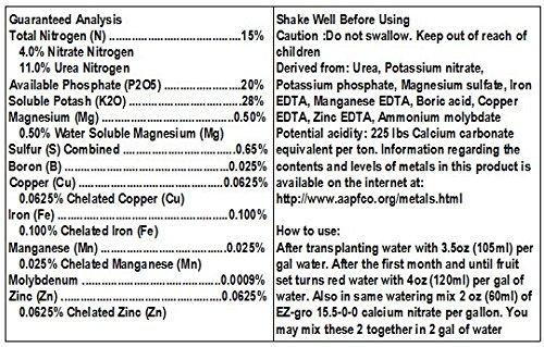 SHOPUS | Tomato Fertilizer by EZ-GRO is a High Potassium