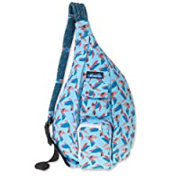 Deals on KAVU Rope Bag Cotton Shoulder Sling Backpack