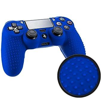 Amazon.com: Playstation 4 STUDDED Controller Skin by Foamy Lizard ...