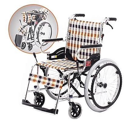 DPPAN Drive Medical Transport Silla de ruedas Aleación de aluminio plegable, fuerte y robusta,