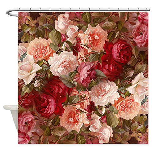 CafePress Floral Shower Curtain Decorative