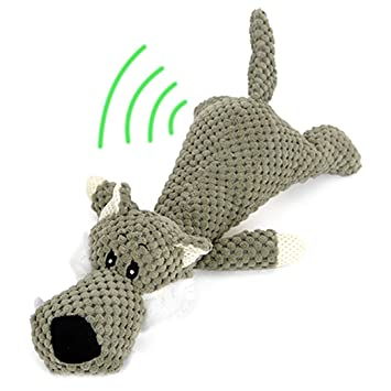Legendog Mascota Perro Chirrido Juguete Interactivo Dientes Limpieza Juguete Masticar Juguete Sonar Juguete para Perro Perrito