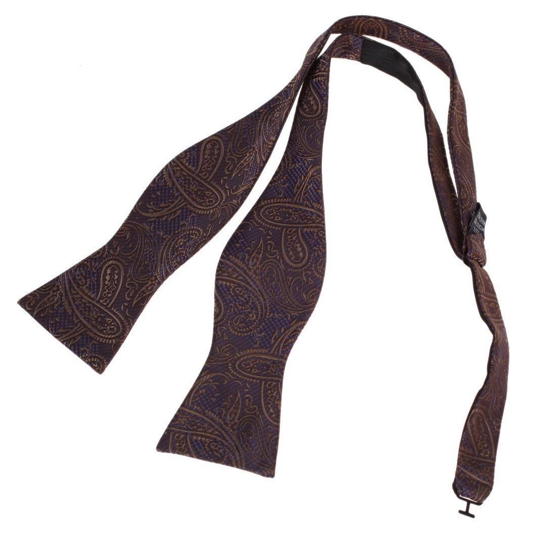 DBA7B17C Black World Gift Idea Patterned Self-tied Bowtie Holy Saturday Goods Microfiber Handmade Polyster Self Bow Tie By Dan Smith