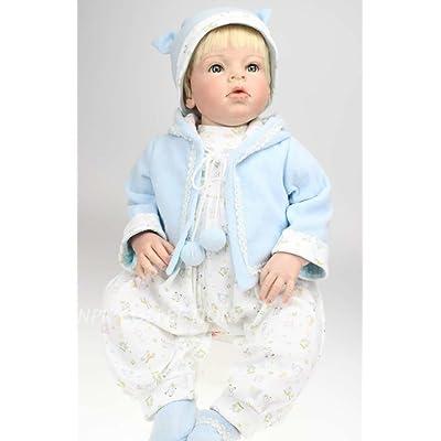"TERABITHIA 28"" Alive Soft Silicone Reborn Baby Boy Dolls: Toys & Games"