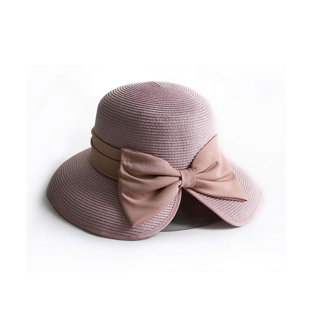 Zhongsufei da Cappello da Zhongsufei Donna con Cappello Ampio a Tesa Larga  Cappello a Spiaggia con ... fe81650bf7fb