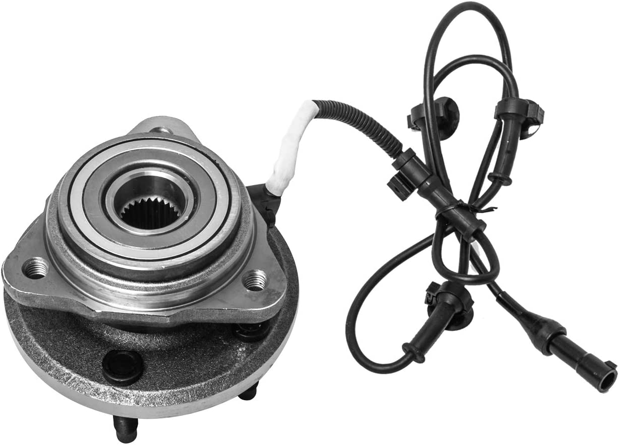 TUCAREST 515052 Front Wheel Bearing and Hub Assembly Compatible With 2003-2009 Ford Ranger Mazda B4000 03-05 Ford Explorer Sport Trac 4WD 4x4 AWD 5 Lug W//ABS Exc. Explorer Sport Models