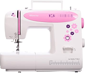 Máquina de coser Best Domestic Portable Euro Pro - Máquina de coser electromecánica blanca barata | Minerva La Vento ...