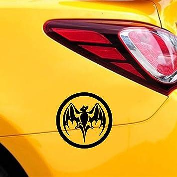 pegatina de pared frases Bacardi Ron Vampire Bat Kayak Window ...