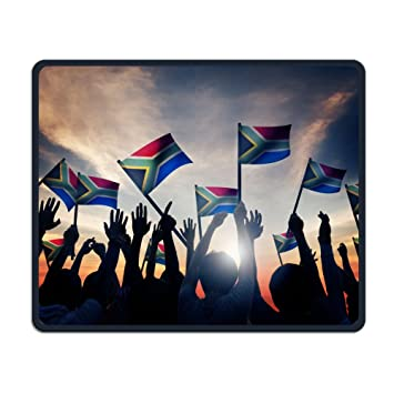 Amazon com : South Africa Flag Is Future 3d Mouse-pads