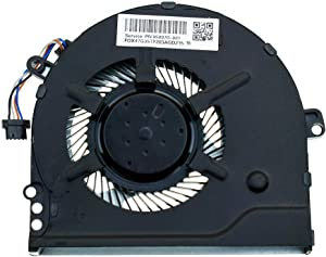 DREZUR CPU Cooling Fan Compatible for HP Pavilion 15-CC 15-CK 14-BK 14-BP Series Laptop Cooler 15-CC708TX 15-CC710TX 15-CC715TX 927918-001