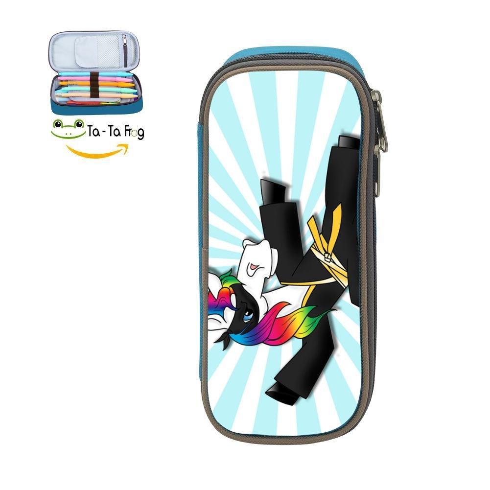 Amazon.com : Pencil Case Rainbow Unicorn Ninja Waterproof ...