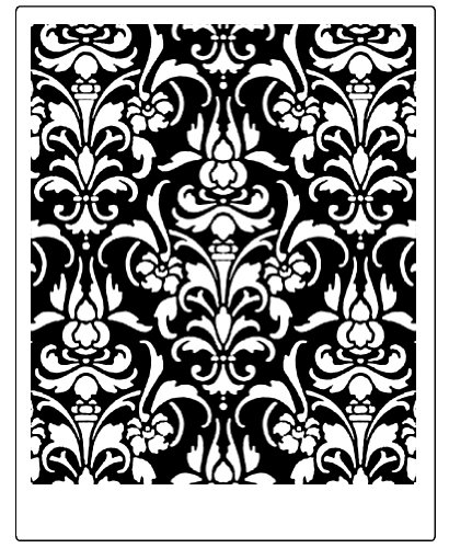 Faux Like a Pro Big Brocade Stencil, 19.5 by 19.5-Inch, Single Overlay