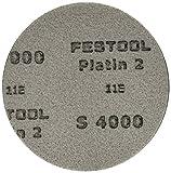 Festool 492377 S4000 Grit, Platin 2 Abrasives, Pack of 15