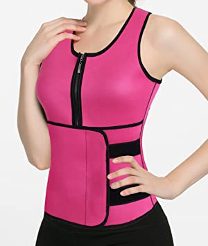 0cdd8d57173 Slimming Body Shaper for Women Tummy Weight Loss Hot Thermo Neoprene Sweat Sauna  Vest No Zipper