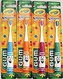 GUM Crayola Pip-Squeaks Kids Toothbrush