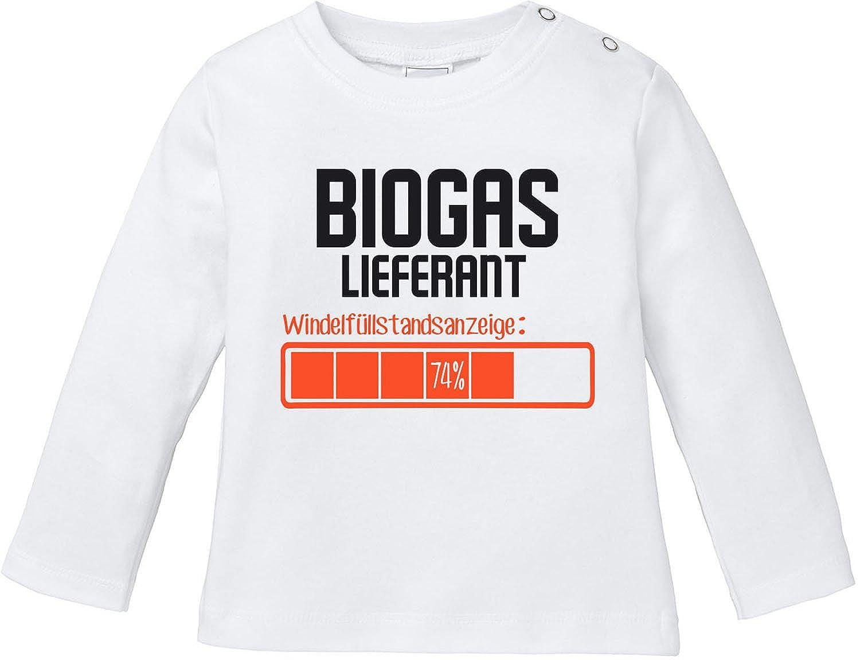 EZYshirt Biogas Lieferant Baby T-Shirt Longsleeve