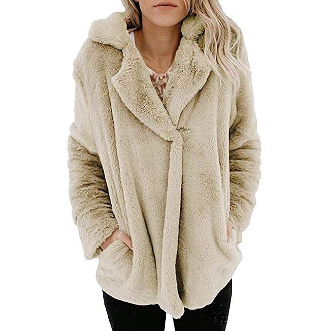 FRAUIT Mantel Damen Winter Wollmantel Frauen Warm Jacke Langen öffnen  Vordere Jacken-Mantel-Oberbekleidung Pullover Freizeit Schlanke Mode  Elegant ... b236777821