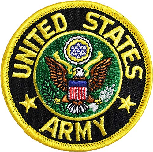 (Army - 3 inch Round Military Patch )