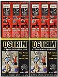 Ostrim Habanero Beef & Elk Snack Stick 1.5 oz - 10 ct(Pack of 2)