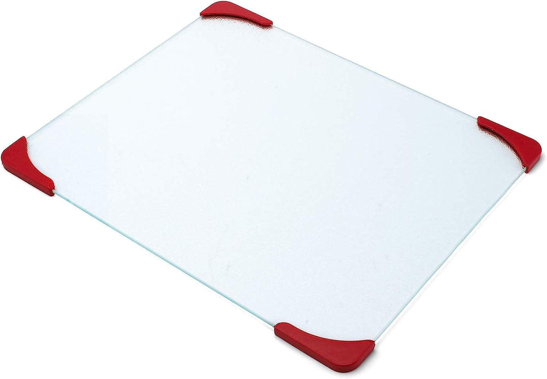 Farberware Classic Series 12inch x 15inch Nonslip Glass Cutting Board