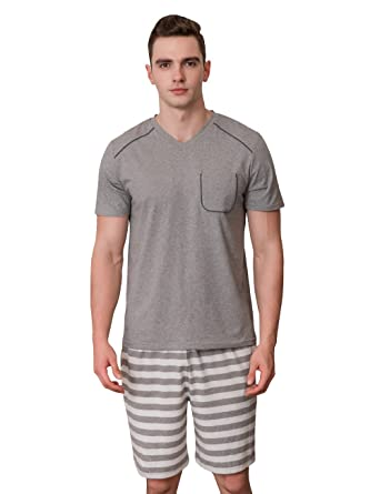 317c3c734321 Qian Xiu modal soft and relaxed home service Short-Sleeve Top With Shorts  two-
