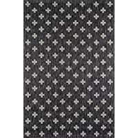 Novogratz Villa Collection Umbria Indoor/Outdoor Area Rug, 20 x 30, Charcoal