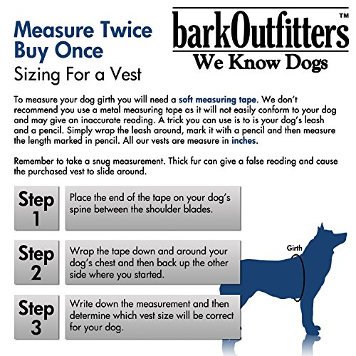 barkOutfitters Service Dog Vest Harness + 50 ADA Info Cards Kit (Red, XS (14'' - 17'' Girth) ) by barkOutfitters (Image #6)