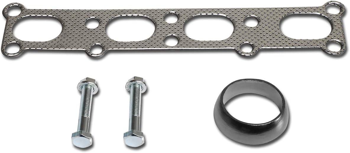 DNA Motoring GKTSET-F15080-58L-LT Aluminum Exhaust Manifold Header Gasket Set Replacement
