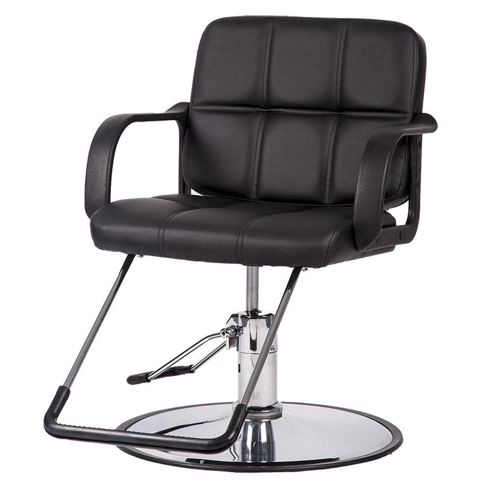 BestSalon Black Classic Hydraulic Barber Chair Salon Spa Beauty Equipment