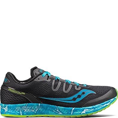 Zapatillas para correr Freedom Iso de hombre, Azul, 15 M US: Amazon.es: Zapatos y complementos