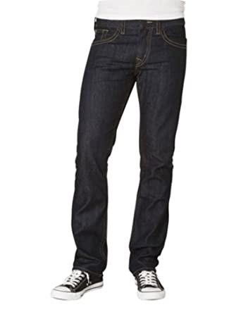 Silver Jeans Men's Dark Straight Slim Konrad Jeans 29 x 32L at ...