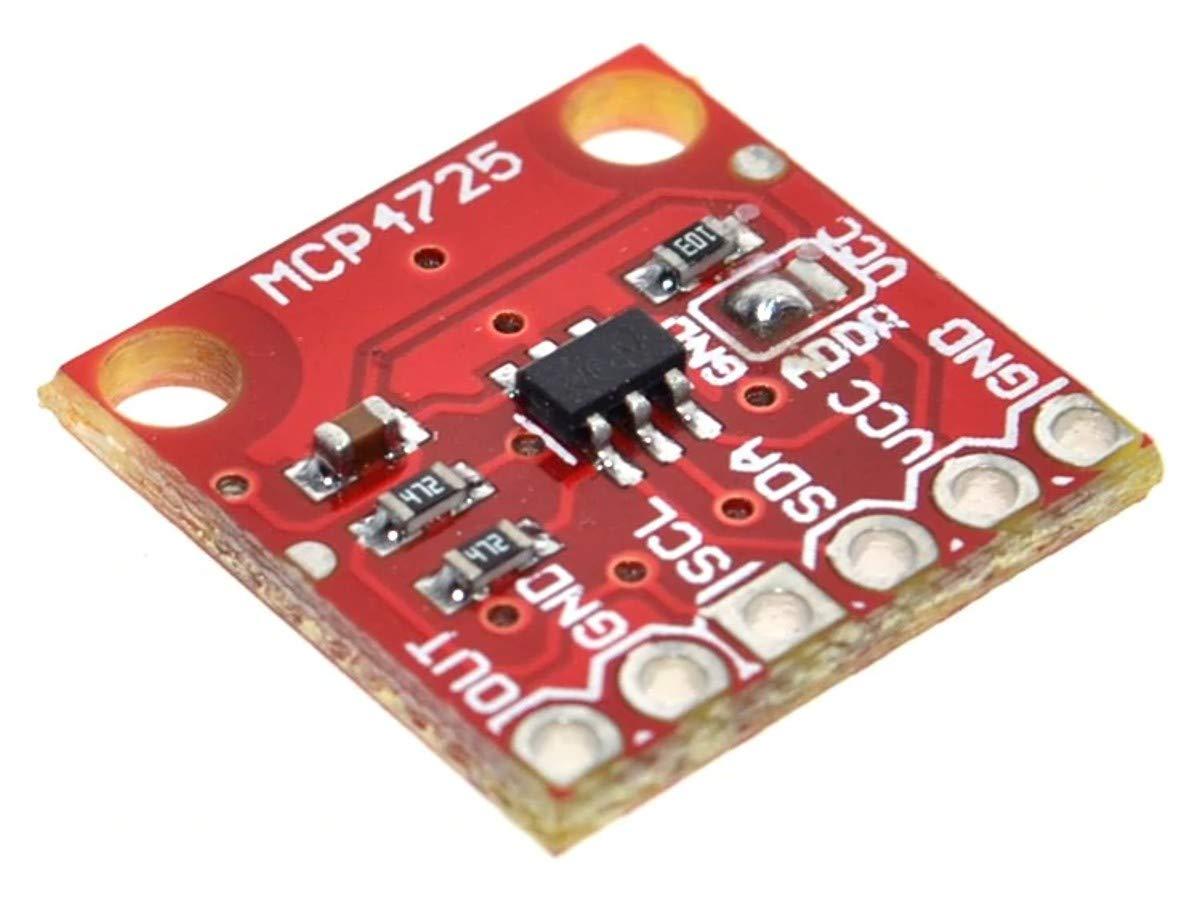 Arduino Esp8266 ESP32 WEMOS SMARTER ELECTRONICS UNIVERSAL-SOLDER SIMPLY Digital-Analog-Wandler DAC 12 Bit MCP4725 I2C