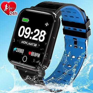 Amazon.com: Fitzoom Fitness Tracker – Reloj inteligente con ...
