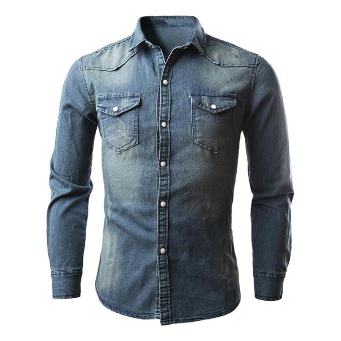 Cowboy Shirts Men's Casual Dress