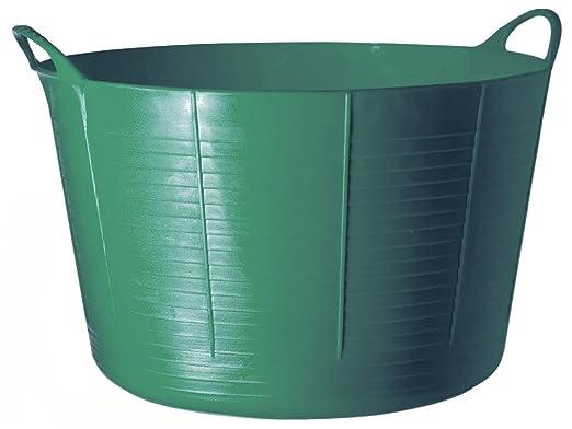9 opinioni per Tubtrugs- Tinozza flessibile in plastica riciclata, 2 manici, 75 L, colore: