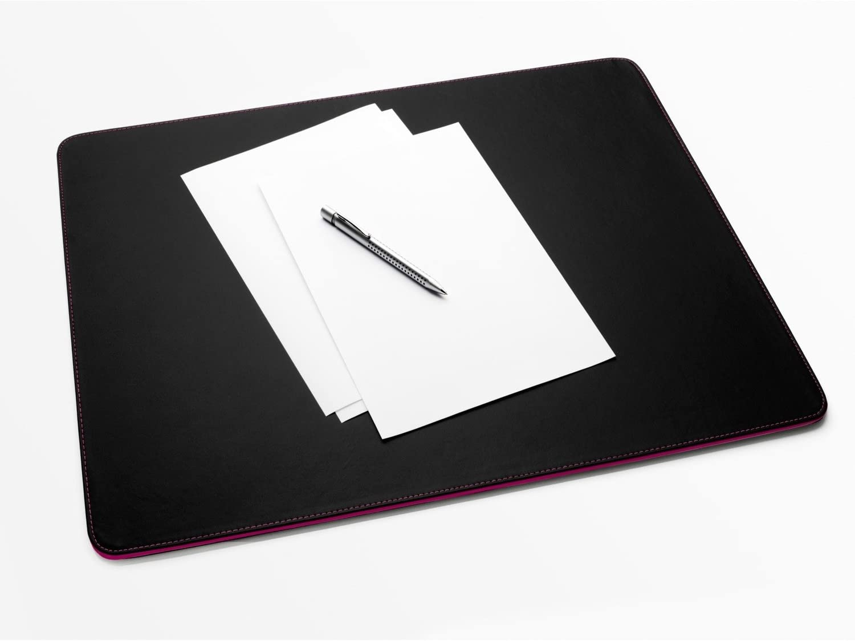Sigel SA156 Desk Pad Eyestyle Black//Berry
