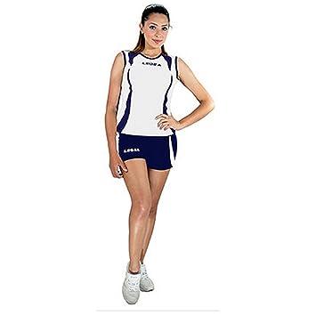 f4ef3c995 Legea Kit Sicilia Equipo De Voleibol Para Mujeres Sport Pegashop  (BIANCO-BLU, L): Amazon.es: Deportes y aire libre