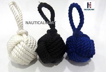 Llavero náutico con cuerda marina, ideal como regalo para el ...